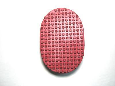 Oval rubber Brush , W/four tiny pin and Handle (Овальный резиновая щетка, Вт / четыре маленьких Pin и ручкой)
