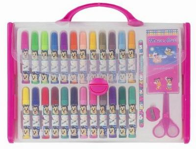 PP BAG COLOR PEN STATINOERY SET (PP BAG COLOR PEN SET STATINOERY)