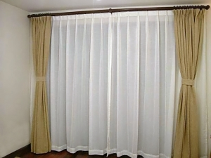 Curtains Anti-static, Non-flammable Silica Curtain with Ultraviolet Protection (Rideaux anti-statique, non-inflammable silice Rideau avec protection UV)