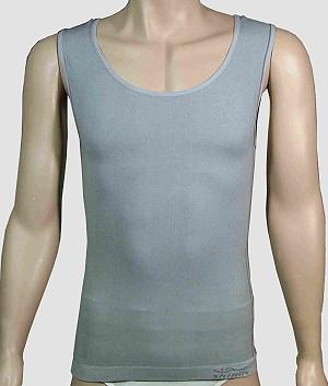 Silica/Bamboo Undershirt with Far Infrared Ray and Negative Ion (Silica / Bamboo Майка с Дальним инфракрасных лучей и отрицательных ионов)