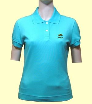 Silica Energy Women`s Polo Shirt, Improves Blood Circulation (Silica энергий женского пола рубашку, улучшает кровообращение)
