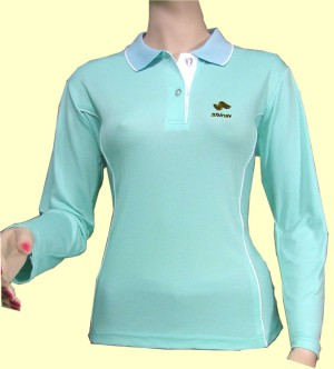 Silica Women`s Polo Shirts with Negative Ion of 550 (Polos silice femme avec Ion négatif de 550)