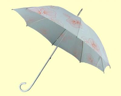 Parasol Umbrella with Floral Designs, Non-flammable