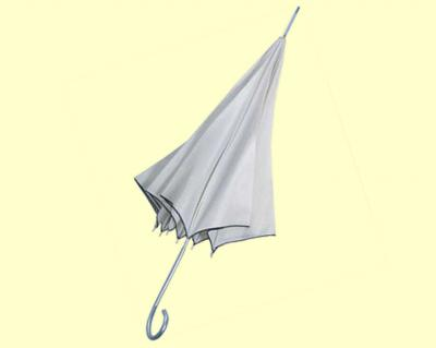 White-colored Parasol Umbrella, Dries Quickly, Anti-static (White-farbigen Sonnenschirm Regenschirm, trocknet schnell, antistatisch)