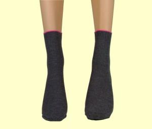 Womens Sock mit 550 Negativ-Ionen, trägt zur Verbesserung der Durchblutungsscan (Womens Sock mit 550 Negativ-Ionen, trägt zur Verbesserung der Durchblutungsscan)
