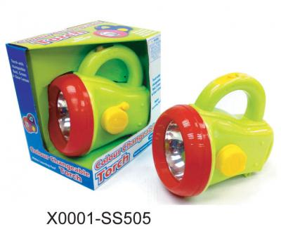 KID`S COLOR CHANGEABLE TORCH (KID`S COLOR сменные TORCH)