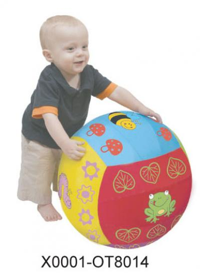 Φ40.5CM INFLATABLE GARDEN SENSORY BALL (н)