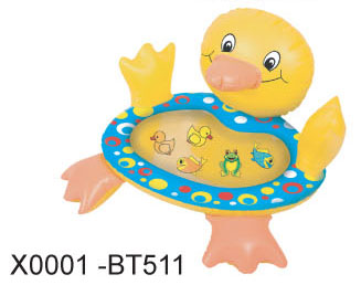 INFLATABLE DUCK BATH PLAY MAT (НАДУВНЫЕ УТКА БАНЯ PLAY MAT)