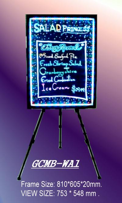 LED Illuminant Color Change Blackboard (A1)