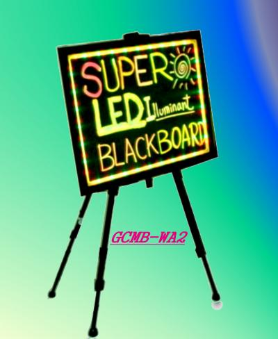 LED Color Change Blackboard (A2) (LED-Farbe ändern Blackboard (A2))