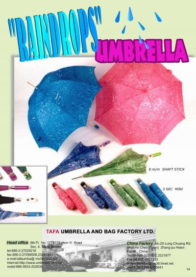 RAINDROPS UMBRELLA (Raindrops ЗОНТ)