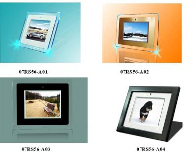 5.6 inch digital photo frame (Acrylic and Wood) Multimedia (5,6 Zoll Digital Photo Frame (Acryl und Holz) Multimedia)