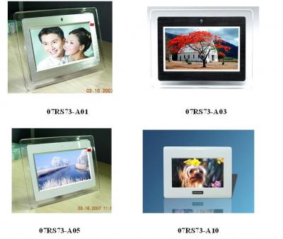7.0 inch digital photo frame (Acrylic/Wood/PC) 07RS73 (7,0 inch Digital Photo Frame (Acryl / Holz / PC) 07RS73)