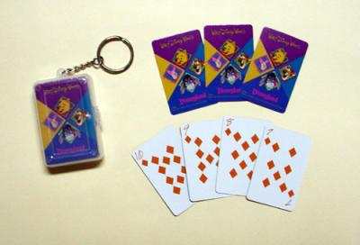 Playing Card With Key Chain (Карты в программе С Key Chain)