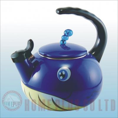Enamel tea kettle (Emaille Teekessel)