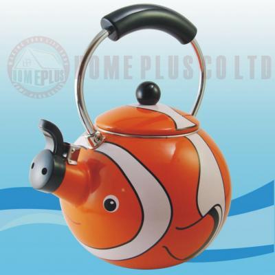 Enamel Teakettle--Clown Fish (Emaille Teekessel - Clown Fish)