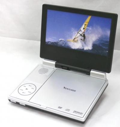 Portable DVD Player with 8 inch TFT Screen