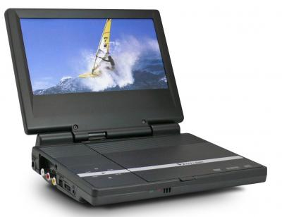 Portable DVD Player with 8 inch TFT Screen (Tragbarer DVD-Player mit 8-Zoll-TFT-Bildschirm)