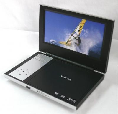 Portable DVD Player with 9 inch TFT Screen (Tragbarer DVD-Player mit 9-Zoll-TFT-Bildschirm)