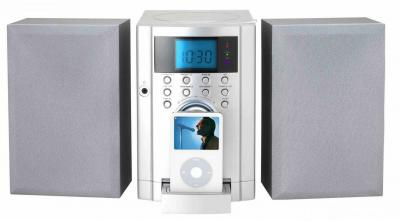 CD Micro System with PLL Radio and i-Pod Docking (CD-Micro-System mit PLL Radio und i-Pod Docking)