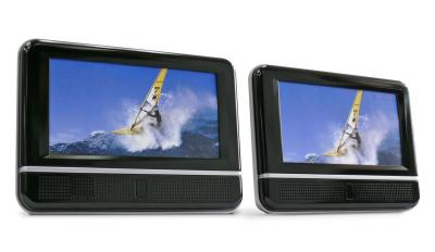 8 inch Mobile DVD Player with 8 inch LCD Monitor (8-Zoll-Mobile DVD-Player mit 8-Zoll-LCD-Monitor)